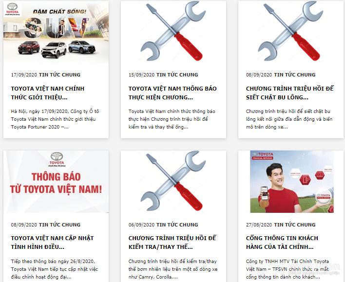 bài viết quảng cáo xe ô tô