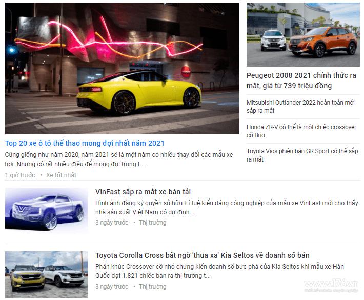 content bán xe tại quảng ngãi