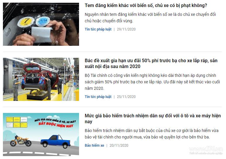 content bán ô tô tại quảng ngãi