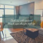 content khách sạn