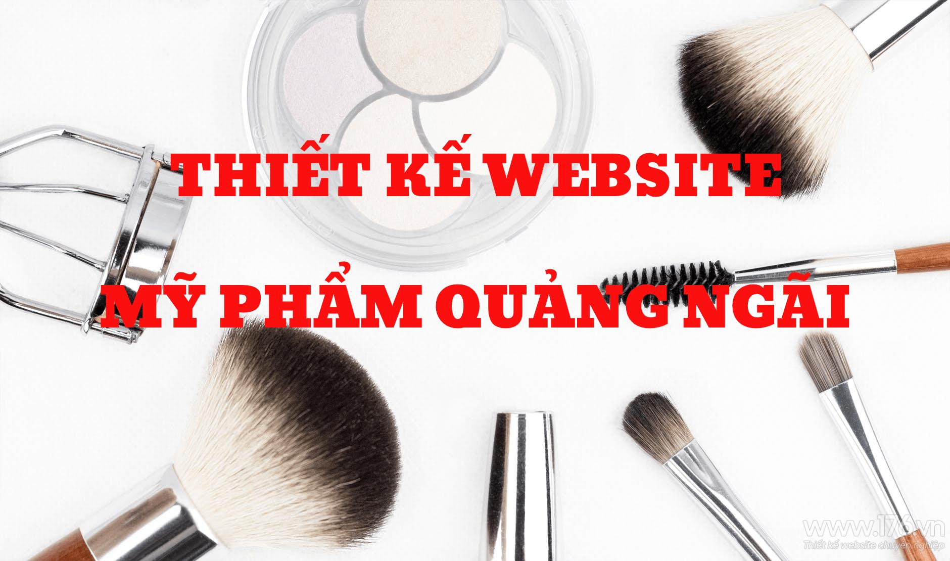 Thiet ke website my pham Quang Ngai 3