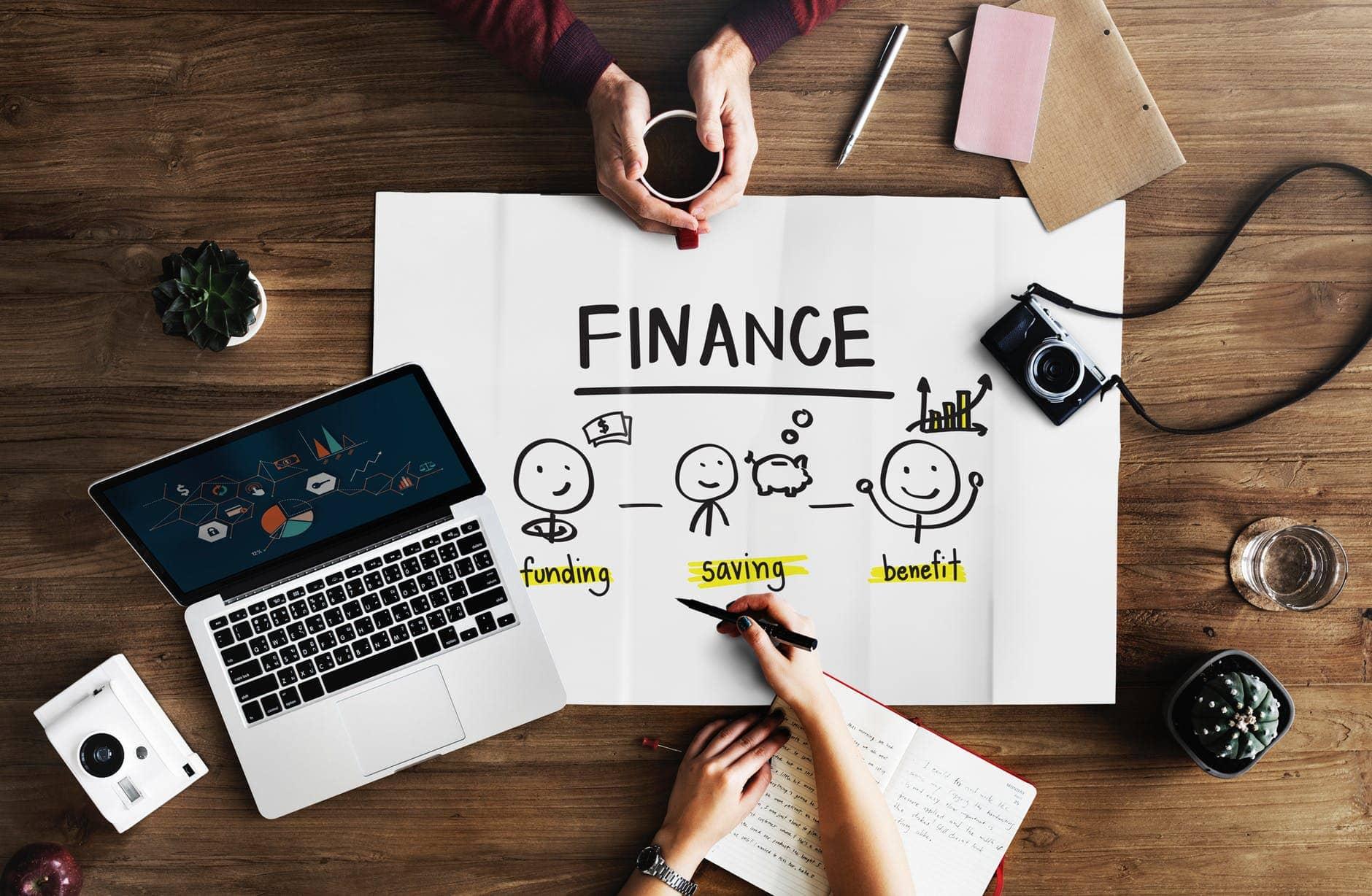 thiết kế website công ty tài chính
