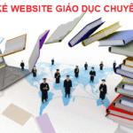 thiet ke website giao duc Quang Ngai 1