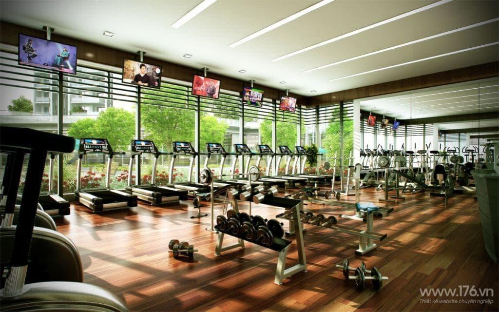 thiet ke website phong tap Gym Quang Ngai 1