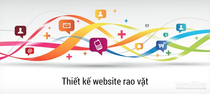 Thiết kế website rao vặt Quảng Ngãi