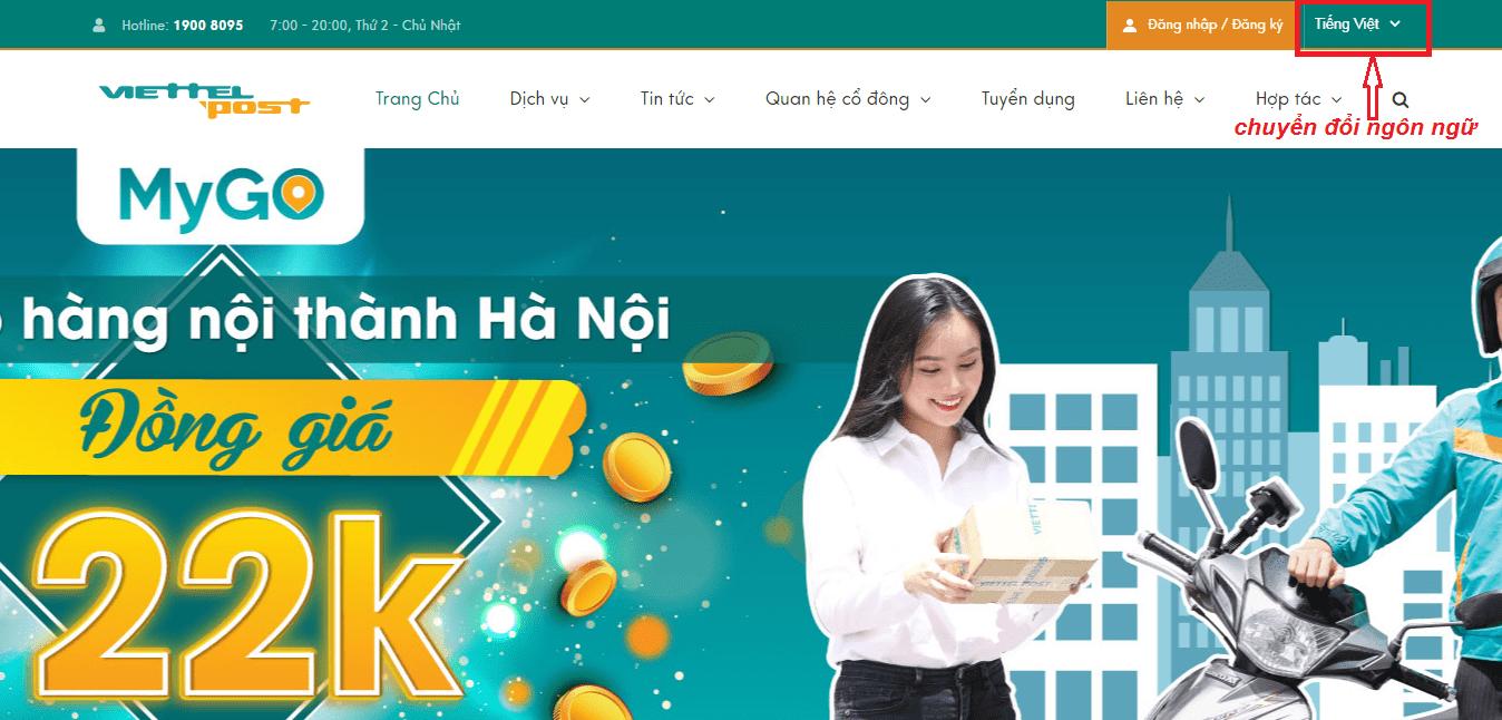 thiết kế website vận tải