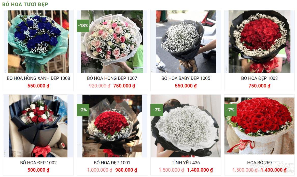 thiet ke web ban hoa quang ngai