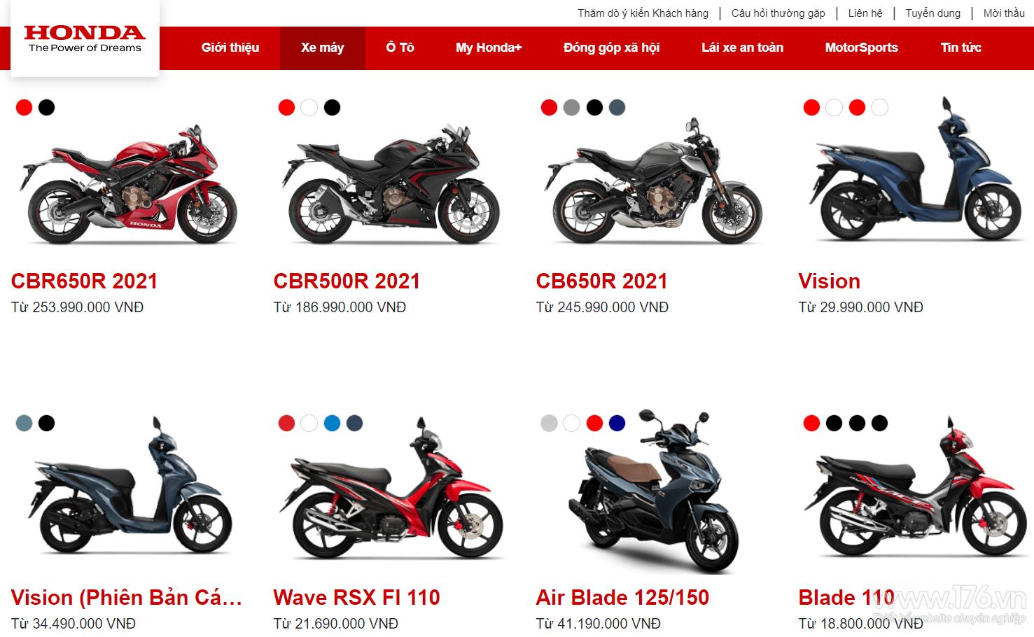 website ban xe may quang ngai