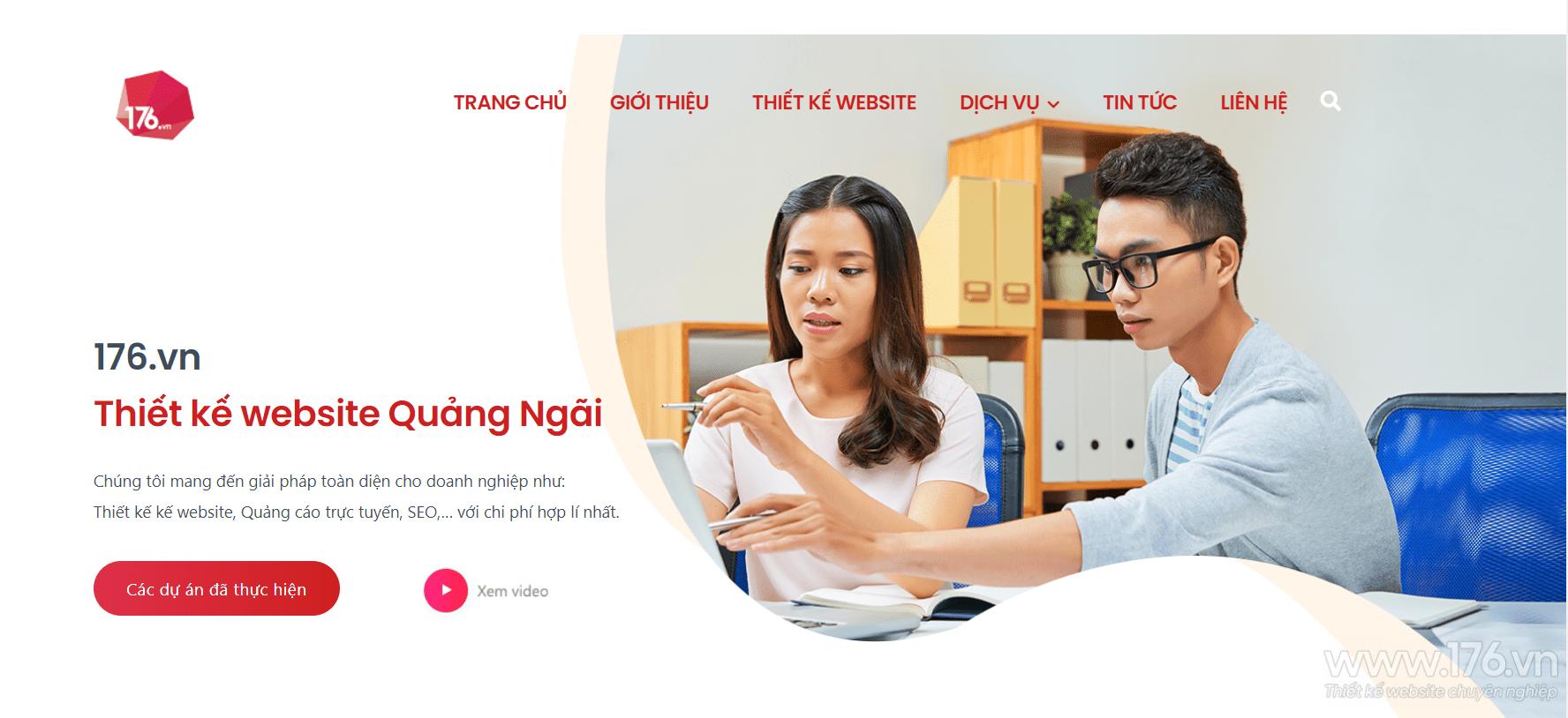 website van phong pham quang ngai