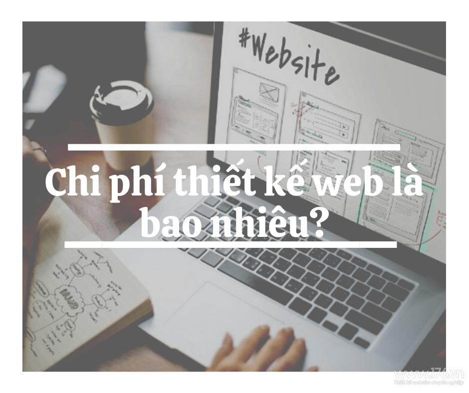 chi phi thiet ke web